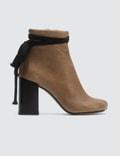 MM6 Maison Margiela Strap Ankle Boots Picutre
