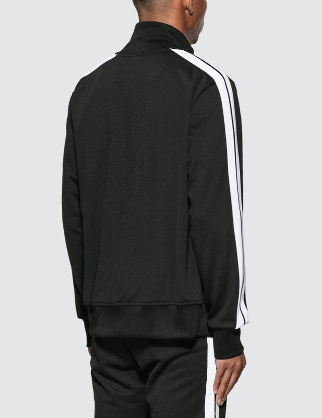 Palm Angels Classic Track Jacket Black White Men