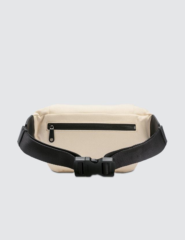 Burberry Logo Print Canvas Belt Bag