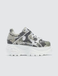 Buffalo London Buffalo Classic White Low-top Camouflage Platform Sneakers Picutre