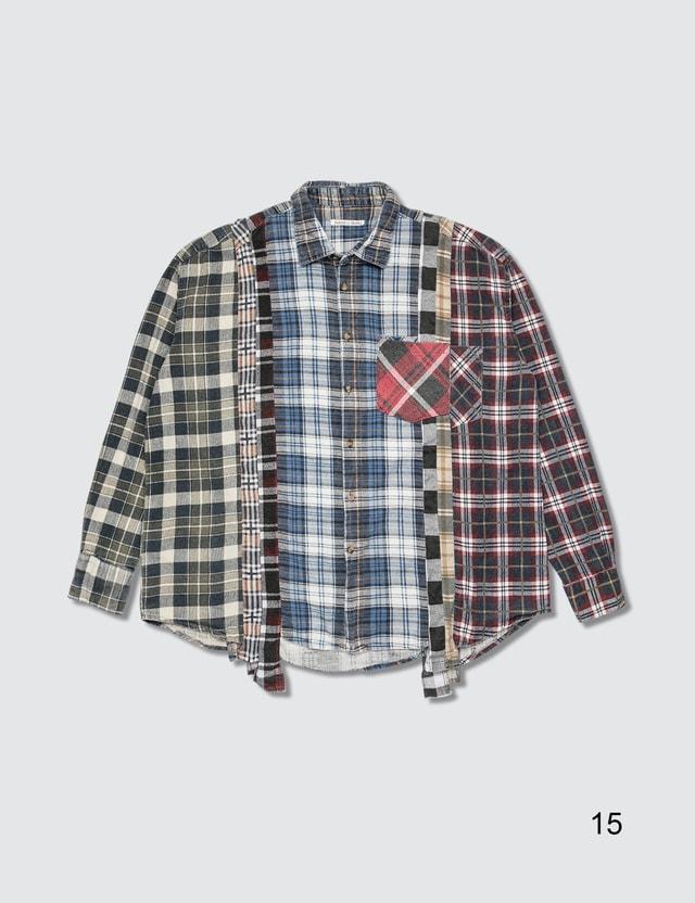 Needles 7 Cuts Flannel Shirt