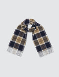 Norse Projects Norse Projects x Johnstons Check Scarf Picture
