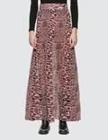 Ganni Pleated Georgette Maxi Skirt Picture