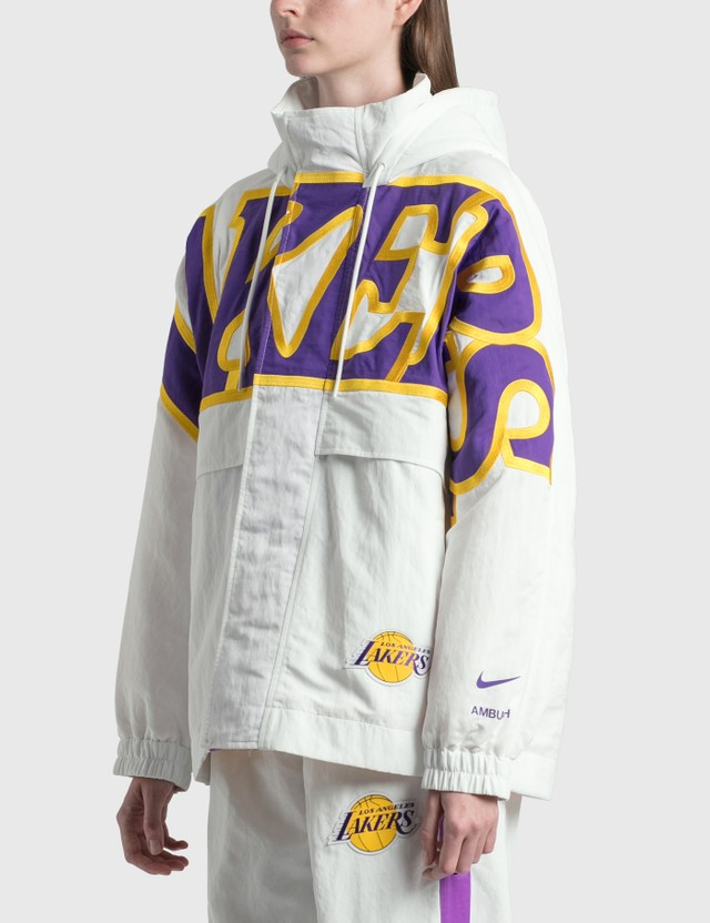 Nike Nike X Ambush Los Angeles Lakers Jacket Summit White Women