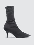 Yeezy Women's Ankle Boot In Stretch Canvas 70mm Heel Picutre