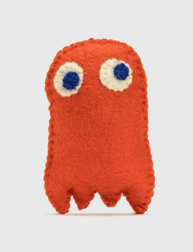 Ware of the Dog Felted Wool Pakman Orange Life