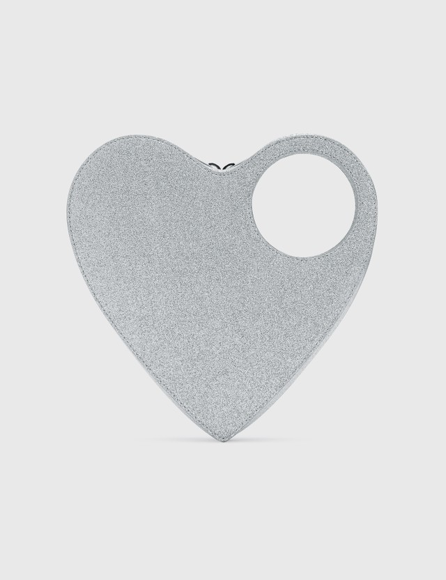 Coperni Heart Swipe Bag Silver Women