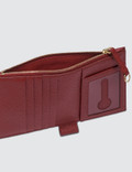 Maison Margiela Zip Leather Card Holder