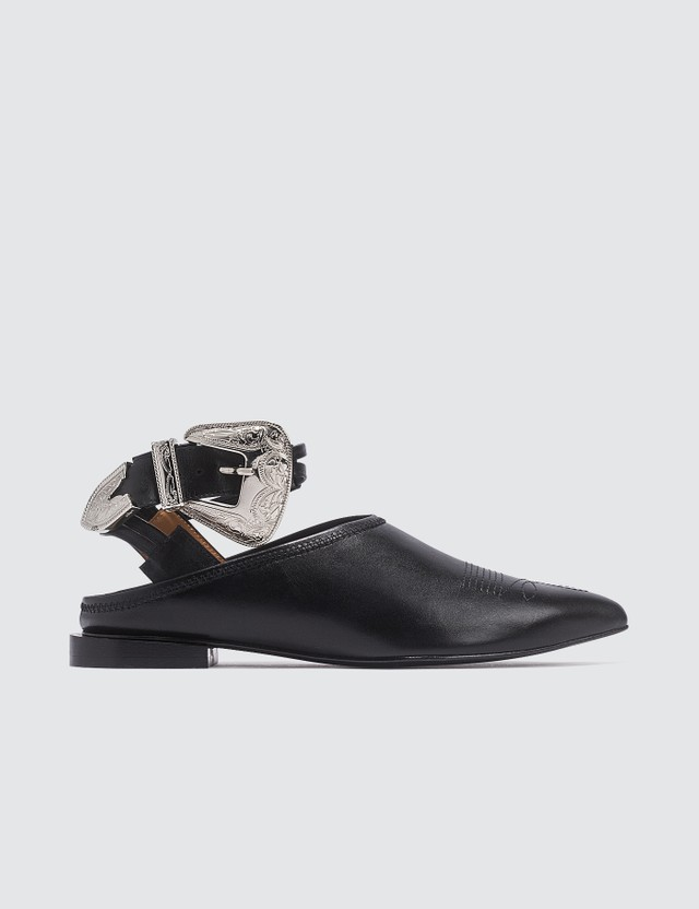 Toga Pulla Buckle Mules