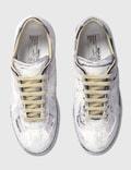 Maison Margiela Paint Effect Replica Sneakers Black/white Women