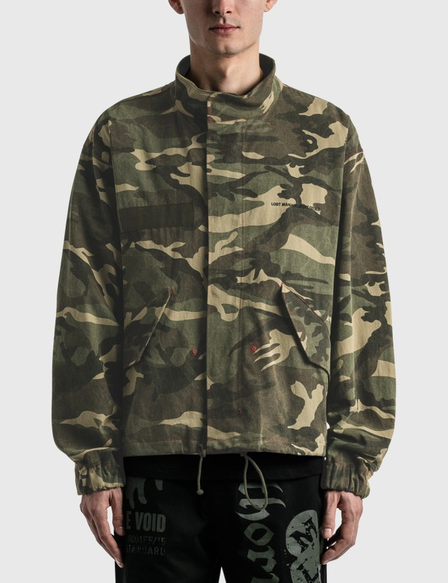 LMC Cropped M-65 Jacket Green Men