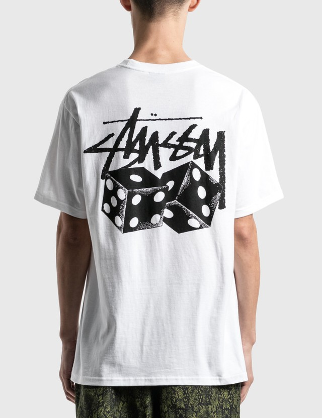 Stussy Pair Of Dice 티셔츠 White Men