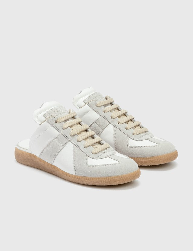 Maison Margiela Replica Mule Sneakers Dirty White Women