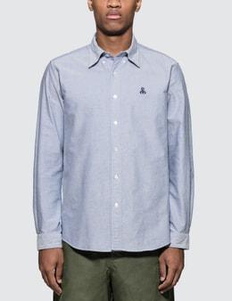 SOPHNET. Sleeve Panel B.D Shirt