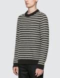 Saint Laurent Sailot Mohair Knit Sweater