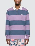 Stussy Classic Stripe Rugby Shirt 사진