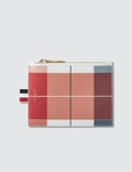 Thom Browne Large Buffalo Check Printed Pebble Grain Leather Small Coin Purse (14.5 cm) Picture