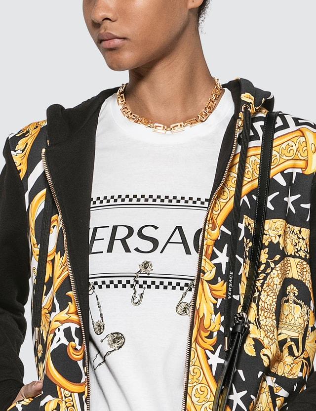 Versace Greca Chain Choker Necklace