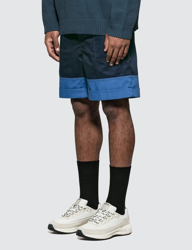 Marni Colorblock Shorts