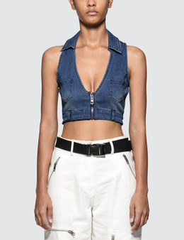 I.AM.GIA Brit Crop Top