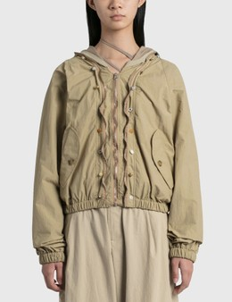 Hyein Seo Wavy Zip-up Blouson
