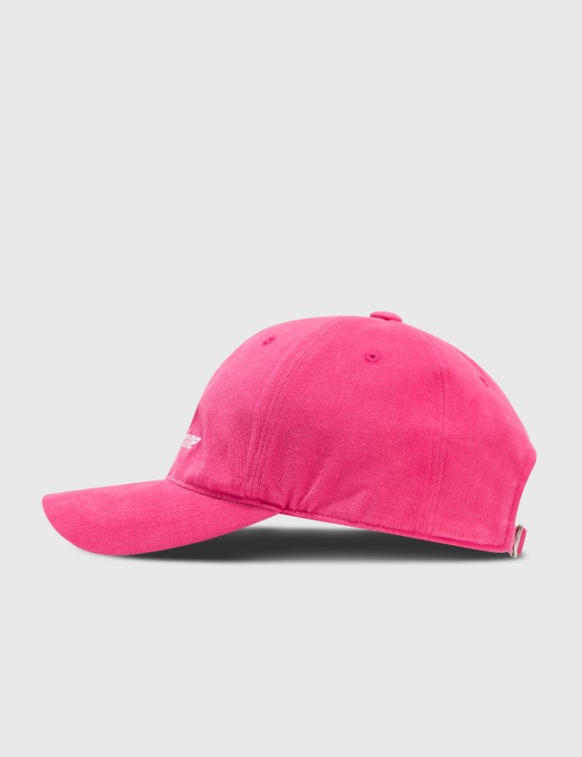 We11done We11done Logo Cap Pink Women