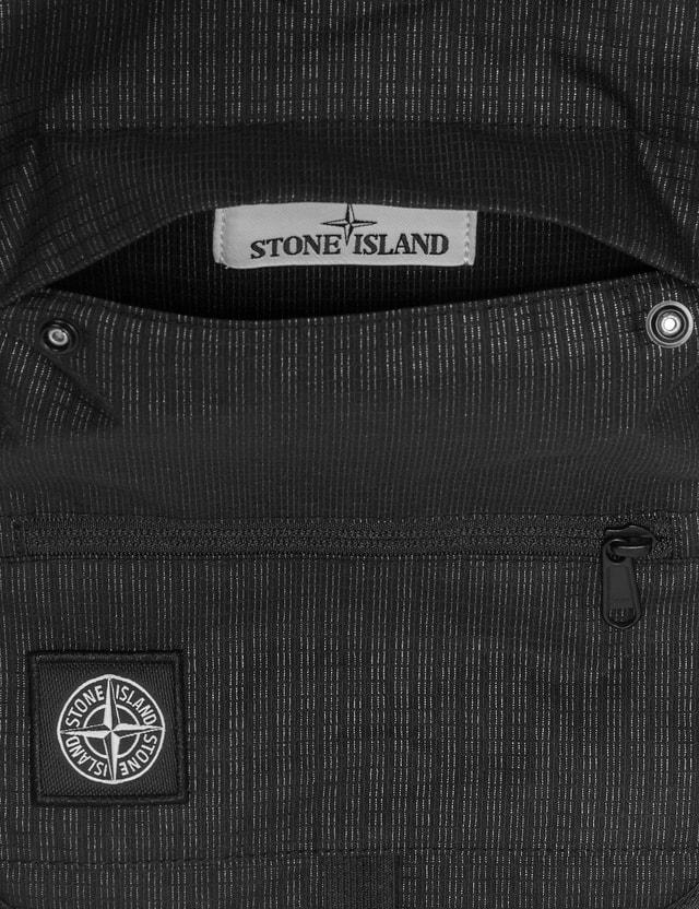 Stone Island Reflective Weave Ripstop Shoulder Bag