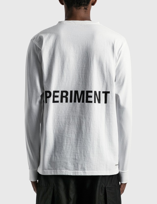 uniform experiment Authentic Long Sleeve T-shirt White Men