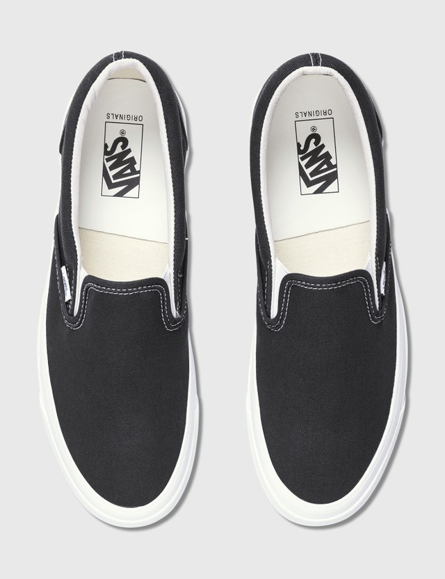 Vans OG Classic Slip-on (canvas) Black/true White Men