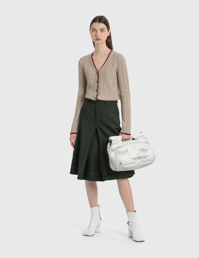Maison Margiela Inside Out Knit Cardigan