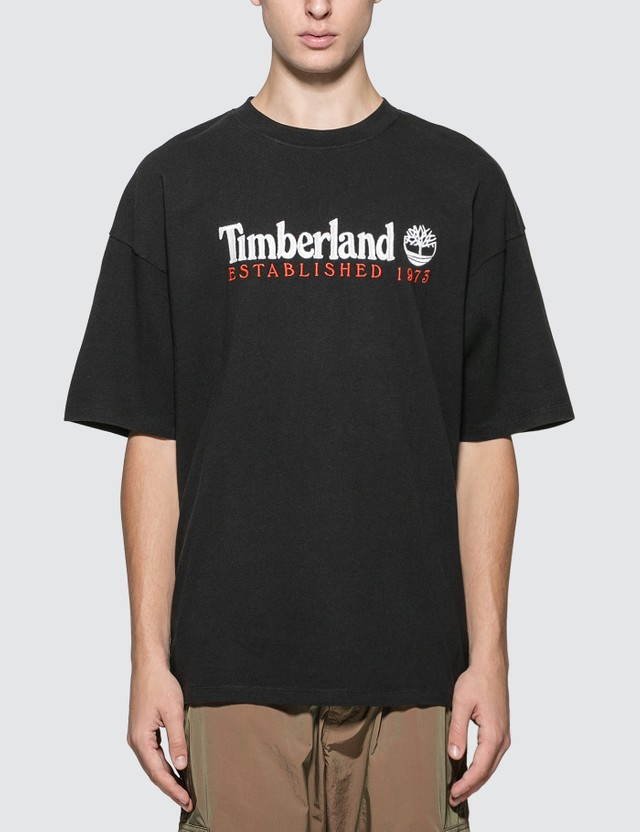 Timberland Establish Logo Print T-shirt