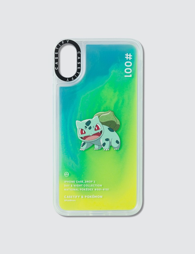 Casetify Bulbasaur 001 Pokédex Night Iphone XS Max Case