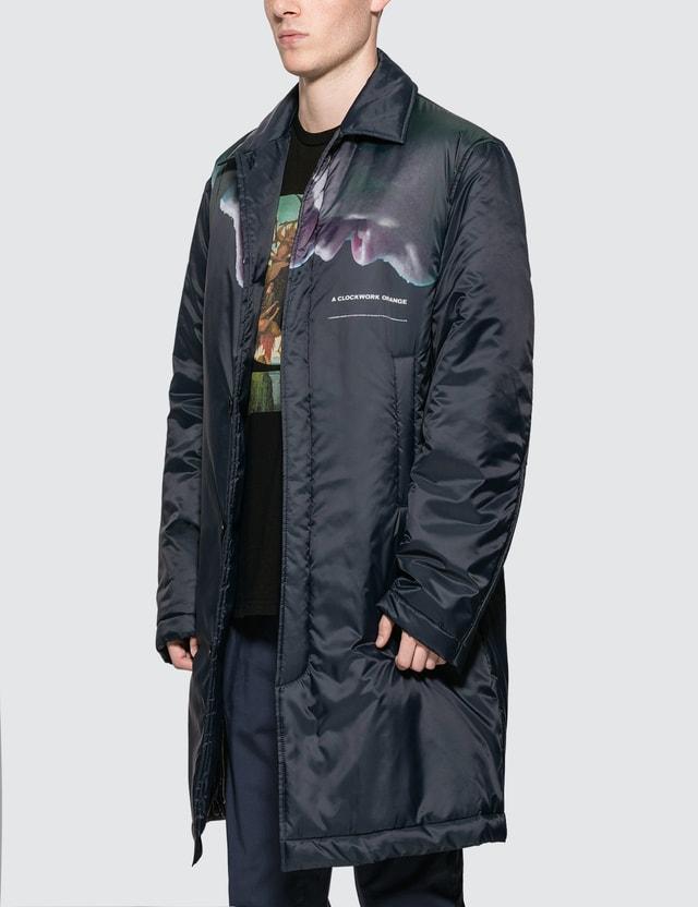 Undercover A Clockwork Orange Coat Navy Men