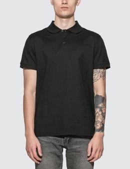 Saint Laurent Monogram Polo Shirt