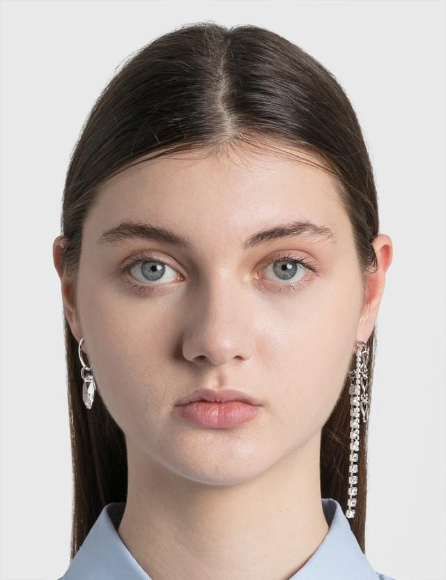Justine Clenquet Ewan Earrings Silver Women