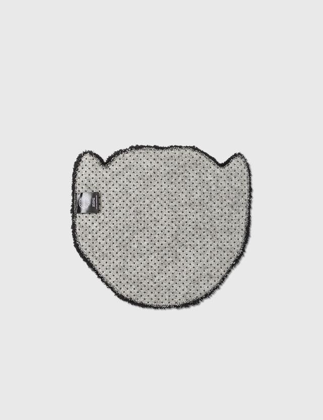 RAW EMOTIONS Mascot Tiger Head Rug Grey Unisex