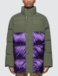 Acne Studios Contrast Panel Down Coat Picture