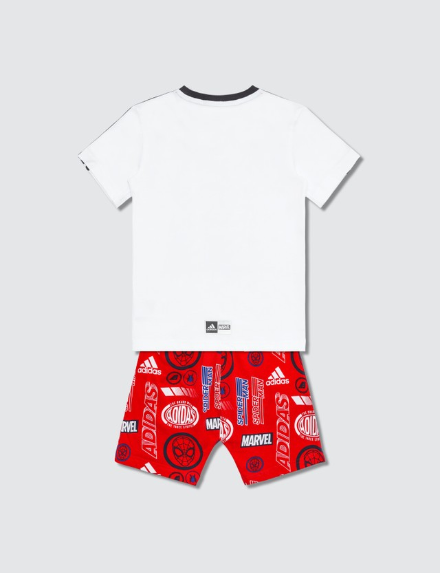 Adidas Originals Marvel Spider Man Summer Set (Toddler)