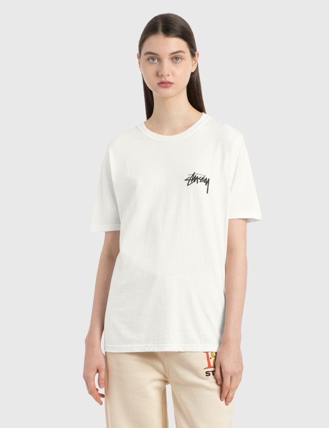 Stussy Peace & Love T-Shirt Natural Women