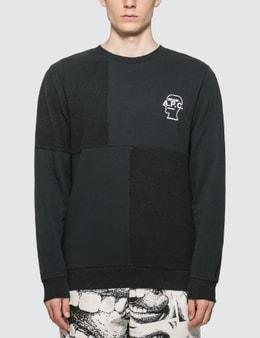A.P.C. A.P.C. x Brain Dead Fabric Block Sweatshirt