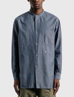 Nanamica Band Collar Wind Shirt