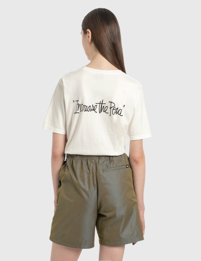 Stussy Increase The Peace 티셔츠 Natural Women