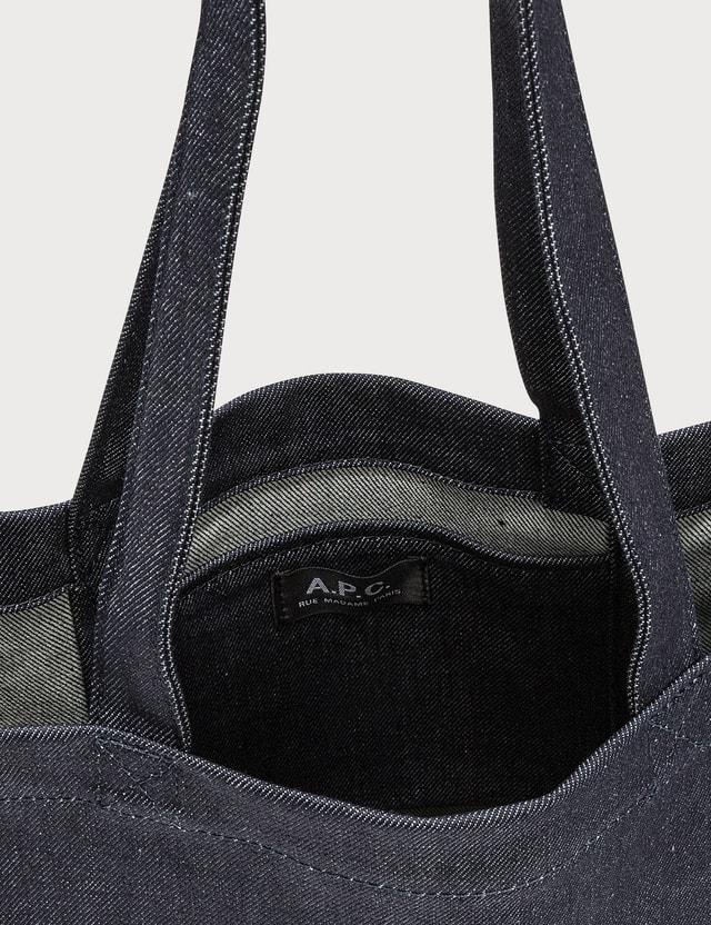 A.P.C. Radically Minimal Denim Tote Bag