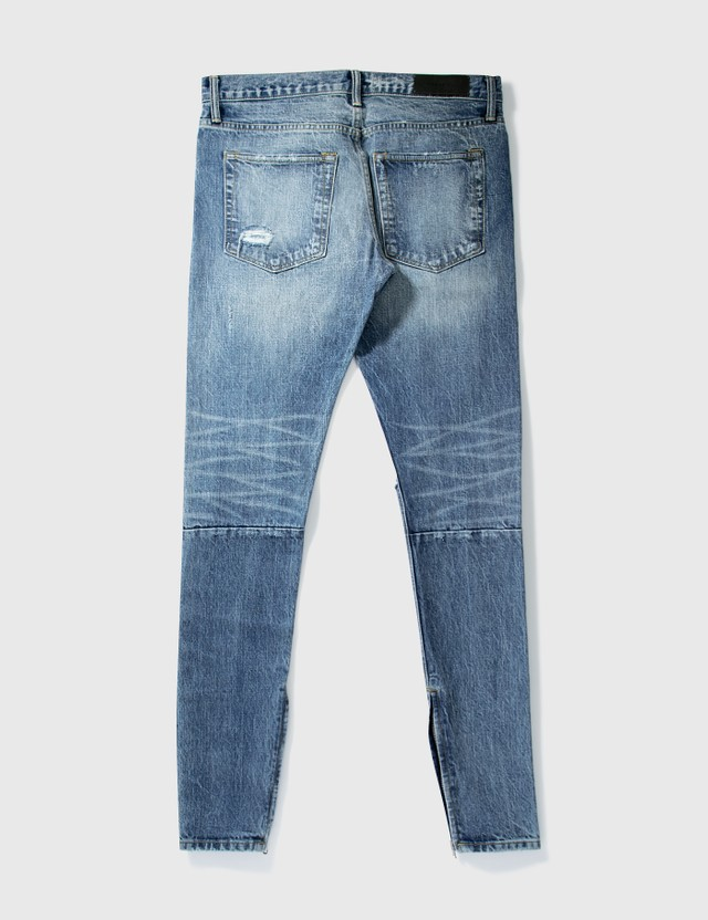 Fear of God Fear Of God Washed Crushed Jeans Blue Archives
