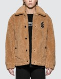 Burberry Monogram Motif Fleece Jacket Picutre