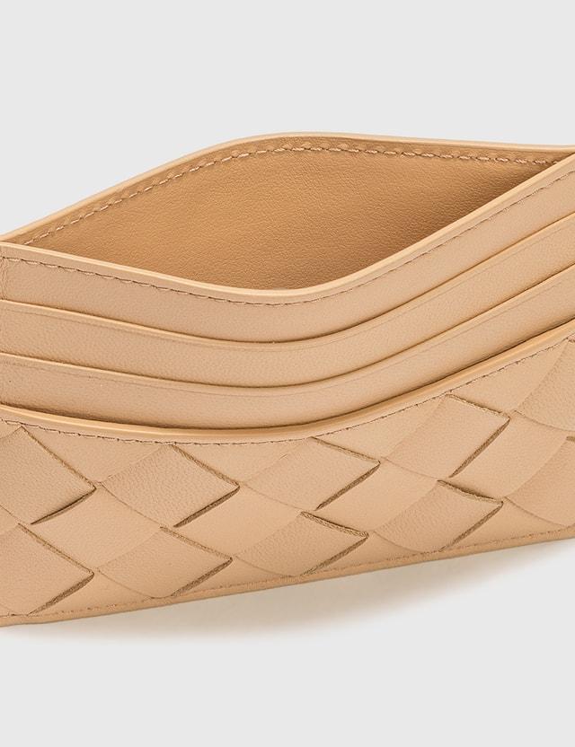 Bottega Veneta Card Holder Almond-gold Women