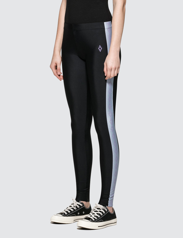 Marcelo Burlon Cross Tape Leggings