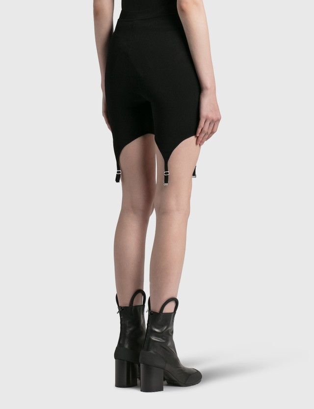 Dion Lee Garter Bike Short Black Women