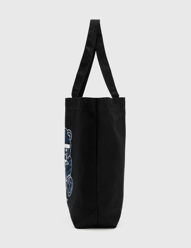 Undercover 30th Anniversary U Bear Bear Tote Bag Black Unisex