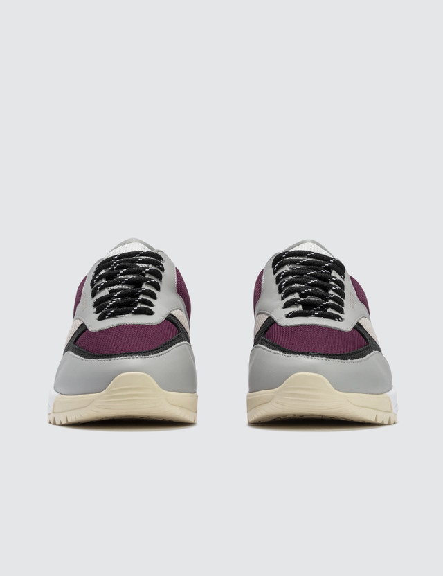 Axel Arigato Tech Runner Grey/burgundy/beige Women